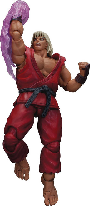 Ultra Street Fighter II: The Final Challengers Violent Ken Action Figure