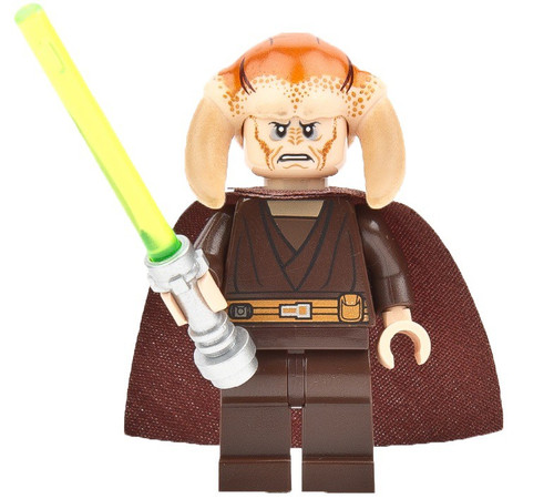 LEGO Star Wars Episode 3 Saesee Tiin Minifigure [With Cape Loose]