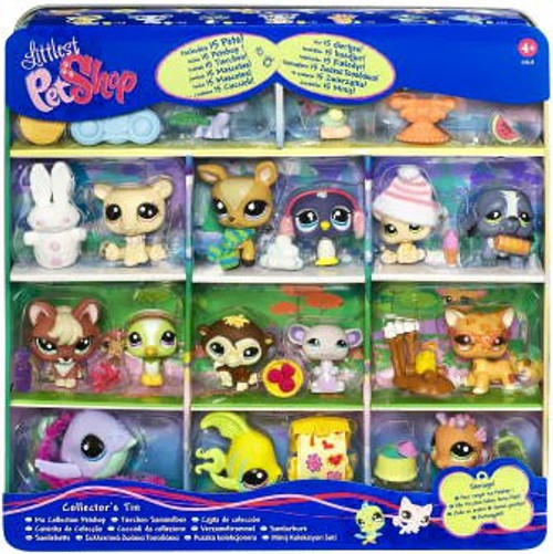 Littlest Pet Shop 15 Pets! Exclusive Collector's Edition Tin [Includes Monkey, Fish, and Seahorse!]