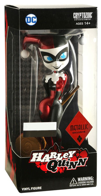DC Batman: The Animated Series Harley Quinn Exclusive 7-Inch Vinyl Figure [Metallic]