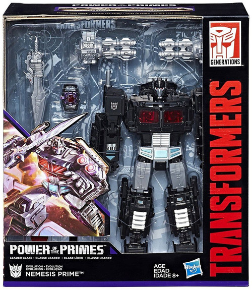 Transformers Generations Power of the Primes Nemesis Prime Exclusive Leader Action Figure