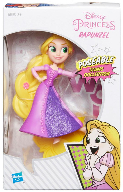 Disney Princess Tangled Poseable Comic Collection Rapunzel Exclusive 5-Inch Basic Figure
