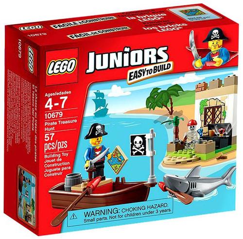 LEGO Juniors Pirate Treasure Hunt Set #10679 [Damaged Package]