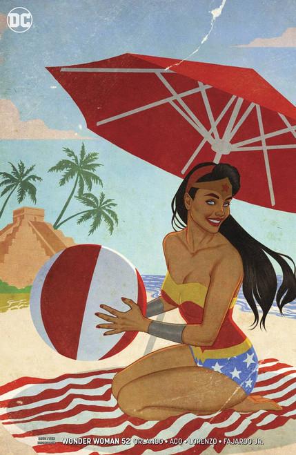 DC Wonder Woman #52 Comic Book [Jenny Frison Variant Cover]