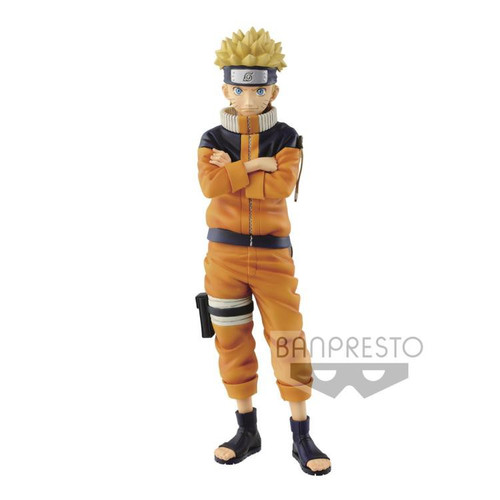Grandista Shinobi Relations Manga Dimensions Naruto Uzumaki 9-Inch Collectible PVC Figure [Version 2]