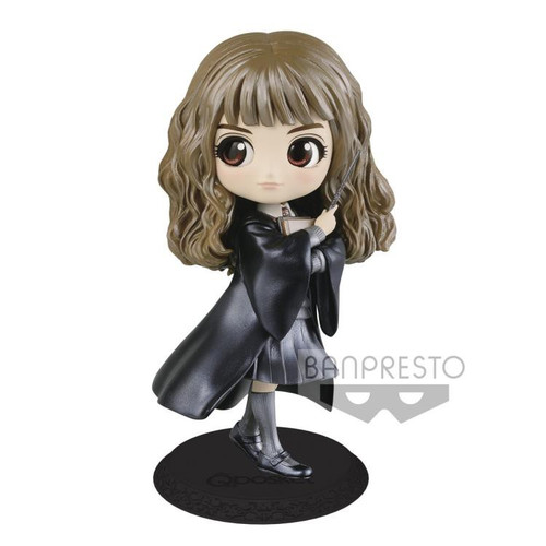 Harry Potter Q Posket Hermione Granger 5.6-Inch Collectible PVC Figure [Pearl Color Version]