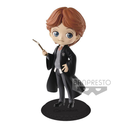 Harry Potter Q Posket Ron Weasley 5.5-Inch Collectible PVC Figure [Normal Color Version]