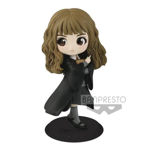Harry Potter Q Posket Hermione Granger 5.6-Inch Collectible PVC Figure [Normal Color Version]