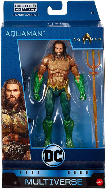 DC Multiverse Trench Warrior Series Kings Armor Aquaman Action Figure
