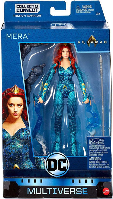 DC Aquaman Multiverse Trench Warrior Series Mera Action Figure
