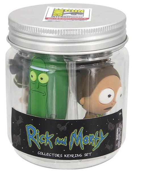 Rick & Morty Gift Set Jar