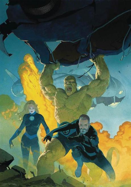 Marvel Comics Fantastic Four #1 Comic Book [Ribic Virgin Variant Cover]