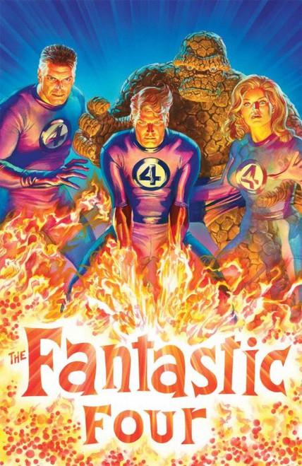 Marvel Fantastic Four #1 Comic Book [Alex Ross Virgin Variant Cover]