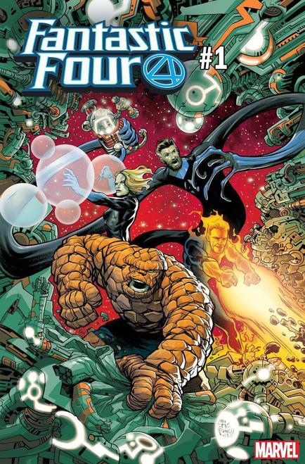 Marvel Comics Fantastic Four #1 Comic Book [Powell Variant Cover]