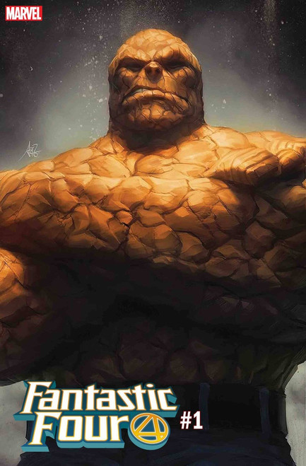 Marvel Fantastic Four #1 Comic Book [Artgerm Thing Variant Cover]