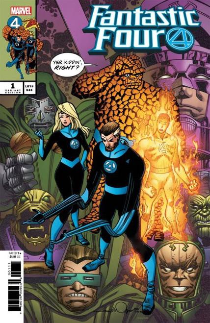 Marvel Comics Fantastic Four #1 Comic Book [Simonson Variant Cover]