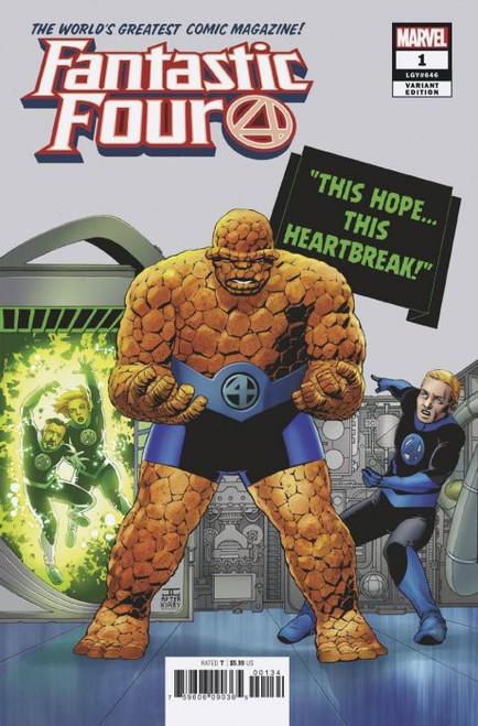 Marvel Comics Fantastic Four #1 Comic Book [Cassaday Variant Cover]