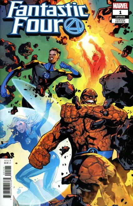 Marvel Comics Fantastic Four #1 Comic Book [Lupacchino Variant Cover]