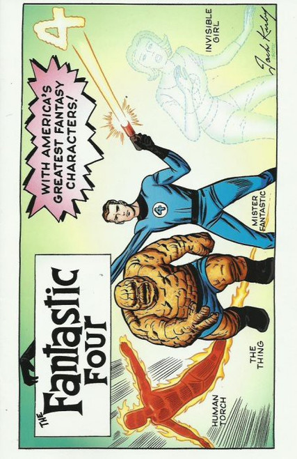 Marvel Fantastic Four #1 Comic Book [Kirby Variant Cover]