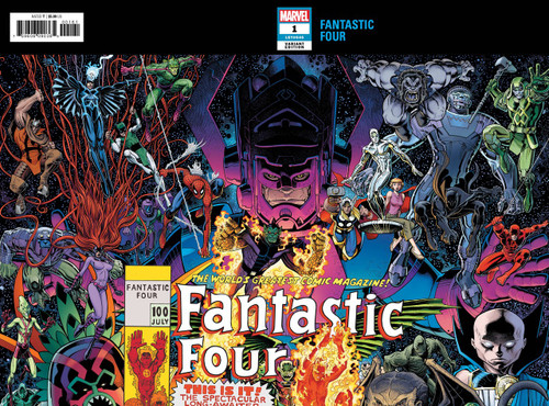 Marvel Comics Fantastic Four #1 Comic Book [Connecting Cover Variant]