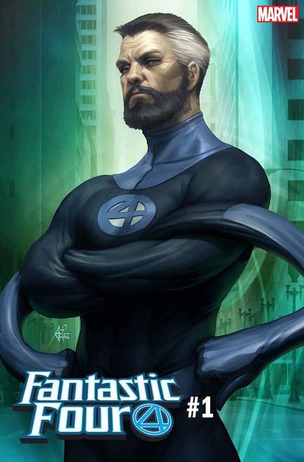 Marvel Comics Fantastic Four #1 Comic Book [Artgerm Mr. Fantastic Cover Variant]