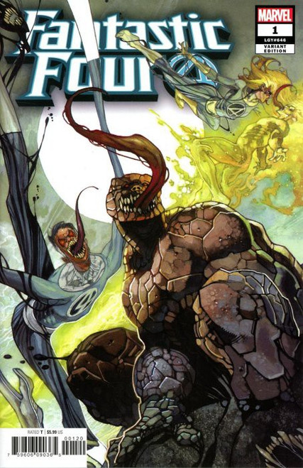 Marvel Comics Fantastic Four #1 Comic Book [Bianchi Venomized Party Cover Variant]
