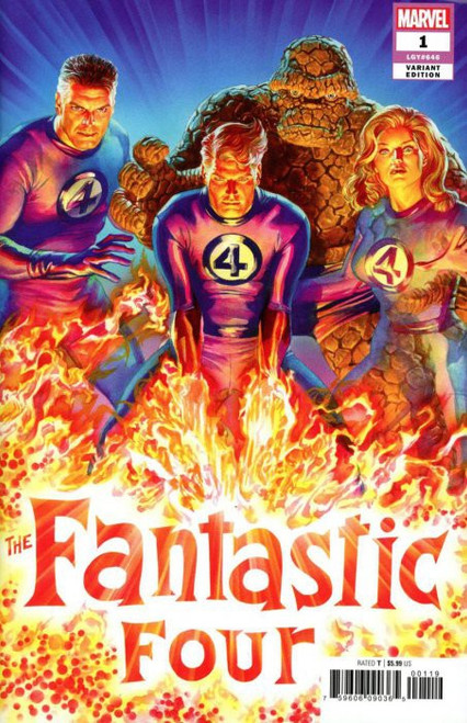 Marvel Fantastic Four #1 Comic Book [Alex Ross Cover Variant]