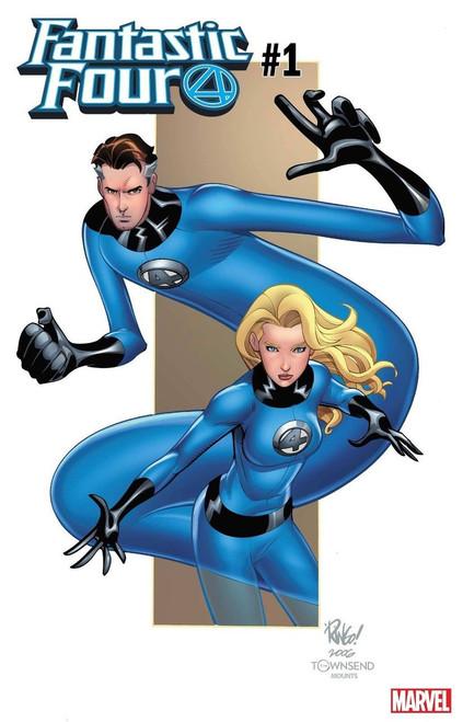 Marvel Comics Fantastic Four #1 Comic Book [Wieringo Cover Variant]