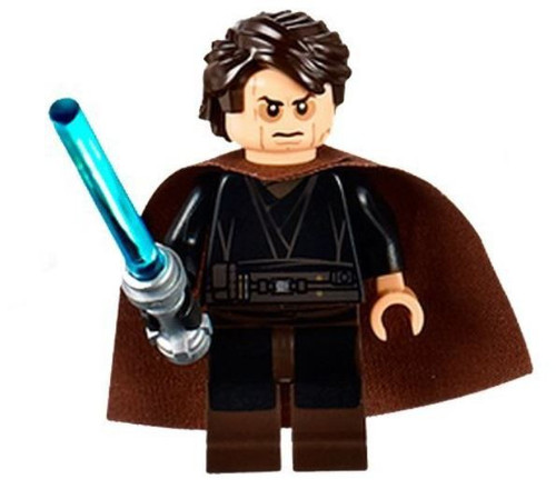 LEGO Star Wars Episode 3 Anakin Skywalker Minifigure [Sith Face, Cape Loose]
