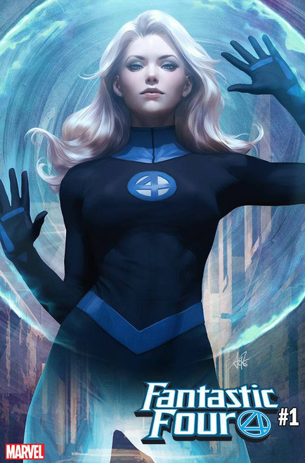 Marvel Fantastic Four #1 Comic Book [Artgerm Invisible Girl Cover Variant]