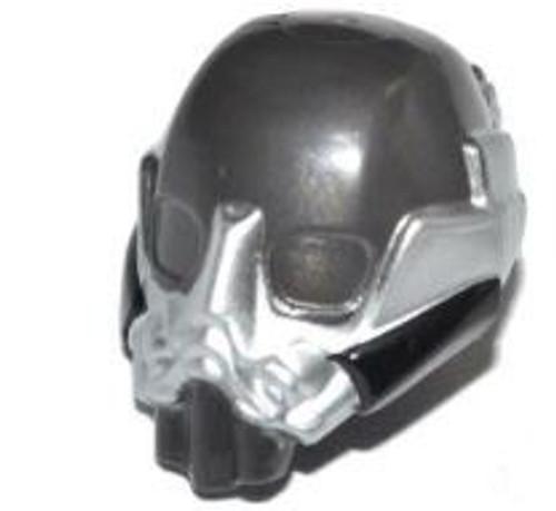 LEGO DC Pearl Dark Gray Space Helmet with Breathing Mask [Loose]