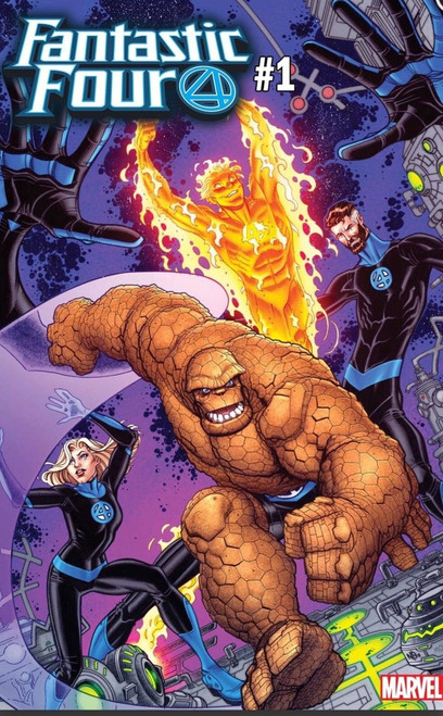 Marvel Comics Fantastic Four #1 Comic Book [Bradshaw Variant]