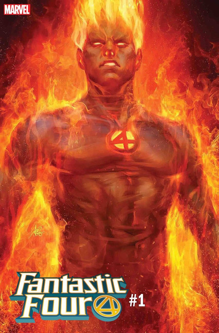 Marvel Fantastic Four #1 Comic Book [Artgerm Human Torch Cover Variant]