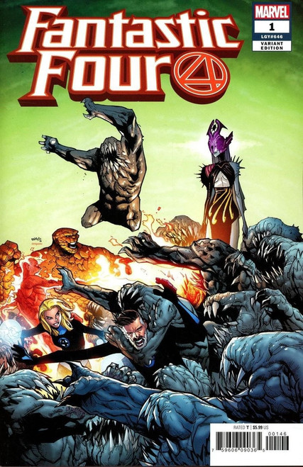 Marvel Comics Fantastic Four #1 Comic Book [Ramos Cover Variant]