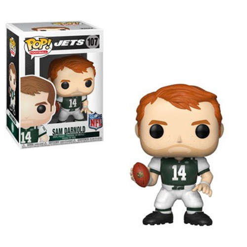 Funko NFL New York Jets POP! Sports Football Sam Darnold Vinyl Figure #107 [Green Jersey]