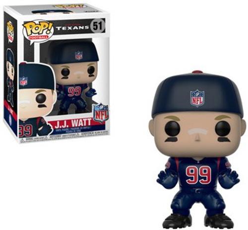 Funko NFL Houston Texans POP! Sports Football JJ Watt Vinyl Figure #51 [Color Rush]