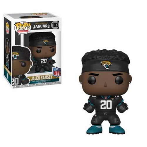 Funko NFL Jacksonville Jaguars POP! Sports Football Jalen Ramsey Vinyl Figure #103 [Black Jersey]