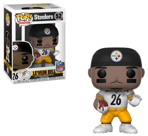 Funko NFL Pittsburgh Steelers POP! Sports Football Le'Veon Bell Vinyl Figure #52 [White Jersey]