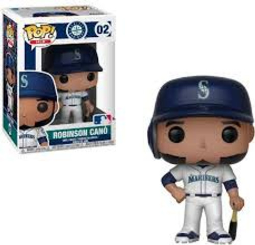 Funko MLB Seattle Mariners POP! Sports Baseball Robinson Cano Vinyl Figure #02 [Damaged Package]