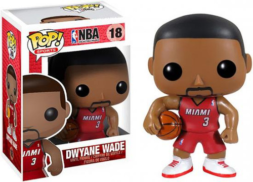 Funko NBA POP! Sports Basketball Dwyane Wade Vinyl Figure #18