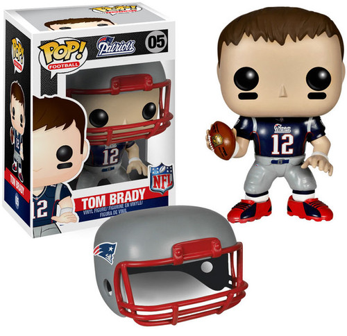 Funko NFL New England Patriots POP! Sports Football Tom Brady Vinyl Figure #05 [Damaged Package]