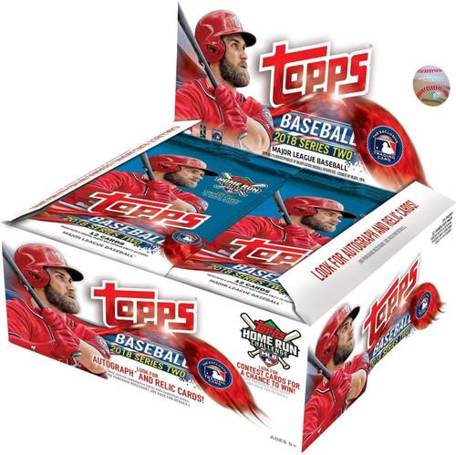 MLB Topps 2018 Series 2 Baseball Trading Card RETAIL Box [24 Packs]