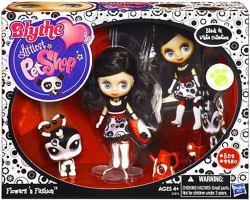 Littlest Pet Shop Blythe Loves Exclusive Playset Flowers 'n Fashion Playset