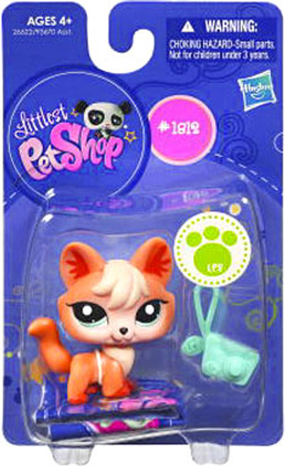 Littlest Pet Shop Fox Figure #1812 [Orange]