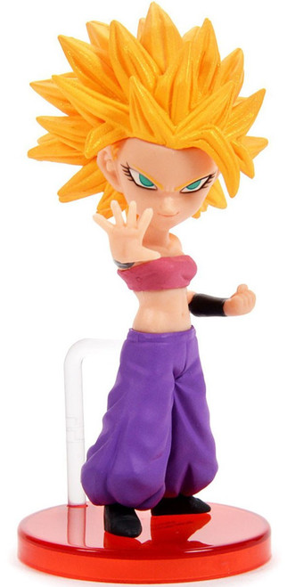 Dragon Ball Super WCF Saiyans Bravery Vol. 2 Super Saiyan Caulifla 2.8-Inch Collectible PVC Figure