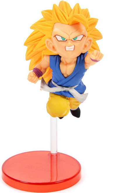 Dragon Ball GT WCF Saiyans Bravery Vol. 2 Super Saiyan 3 Kid Goku 2.8-Inch Collectible PVC Figure