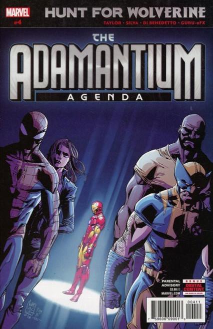 Marvel Comics Hunt for Wolverine #4 Adamantium Agenda Comic Book