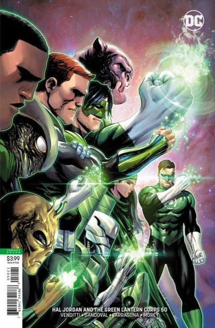 DC Hal Jordan and The Green Lantern Corps #50 Comic Book [Variant]