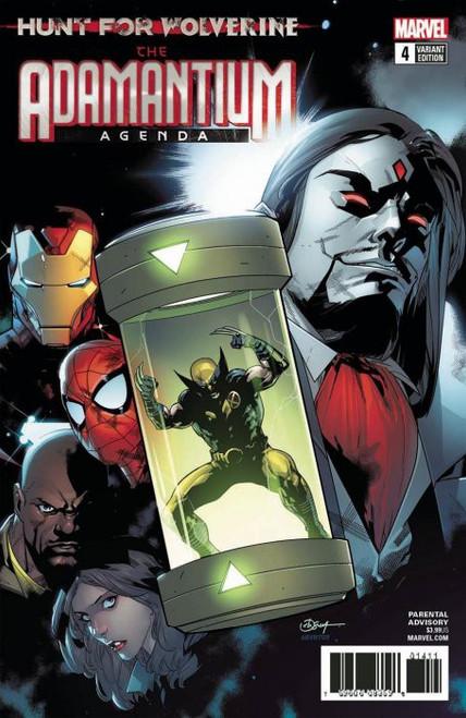 Marvel Comics Hunt for Wolverine #4 Adamantium Agenda Comic Book [Silva Cover]