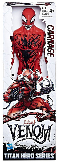 Marvel Venom Titan Hero Series Carnage Action Figure